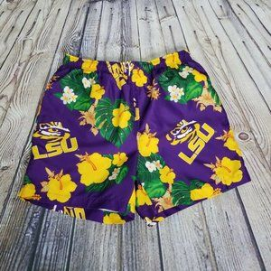 Other - NCAA LSU Tigers Mens M Floral Swim Trunks